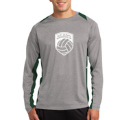 - ST361LS Long Sleeve Heather Colorblock Contender ™ Tee