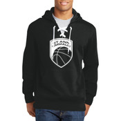 - ST271 Lace Up Pullover Hooded Sweatshirt